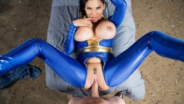 Vrcosplayx.com Huge-boobed Latina Missy Martinez Pummels You In Fallout Gonzo Parody