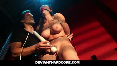 Deviant Gonzo  Chanel Preston Jaws Pulverized And Pumps Out After Harsh Sex