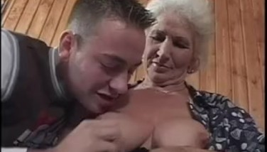 Granny Enjoys Youthful Cocks