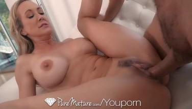 Puremature Mummy Brandi Enjoy Humped With Dribbling Deep Creampie