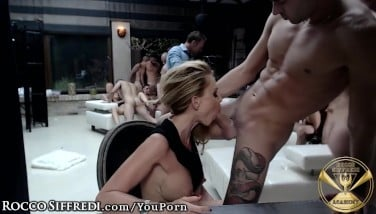 Live Display European Assfuck Hook-up From Rocco Siffredi's Vault