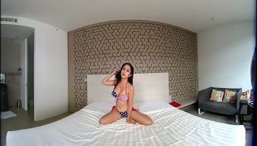 Vrpussyvision.com  Youthful Japanese Taunting You With Her Adorable Body