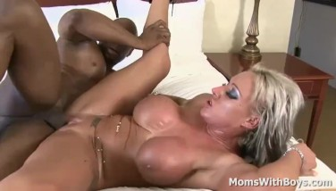 Jammin' My Big Black Cock Into Mummy Carmen Jay's Super-hot Pussy