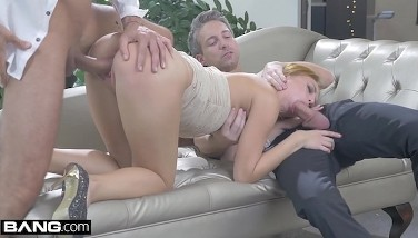 Kira Takes 2 Cocks In Her Fuck Holes In This Glam Xxx Fuck