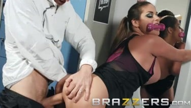 Brazzers  Cathy Heaven Gets Some Huge Boner As A Pre Workout