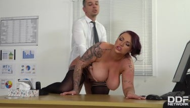Busty Manager Humped Hard