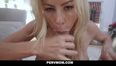 Pervmom  Huge-titted Mature Mummy Plows Her Stepson
