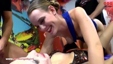 Milf Instructs Stepdaughter How To Gargle  German Goo Girls