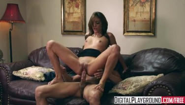 Digital Playground  Melanie Rios And Tommy Gunn  Bony Teenager Rails Pipe Like A Pro