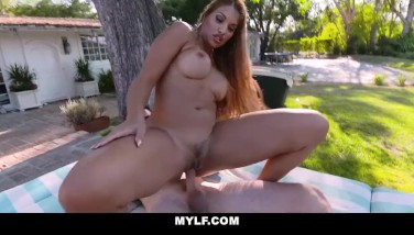Mylf  Handsome Latina Mylf Ravaged Outdoors