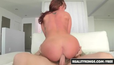 Reality Kings  Giant Booty Ginger Teenager Savannah Fox Wants Some Anal