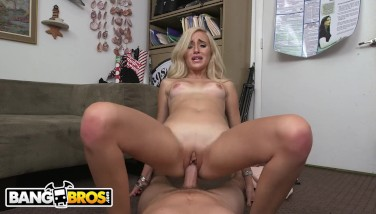 Bangbros  Small Light-haired Naomi Forest Audition Movie Railing Tony Rubino's Cock