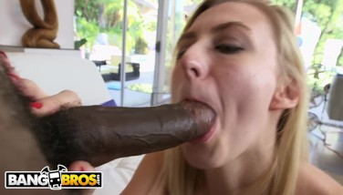Bangbros  Alexa Mercy Liking Moe Johnson's Ample Ebony Dick