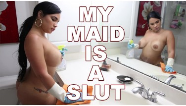 Bangbros  Hefty Butt Cuban Maid Talked Into Providing It Up For More Money
