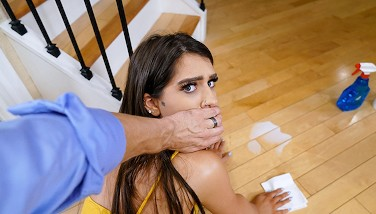 Dadcrush  Camming Stepdaughter Caught By Stepdad