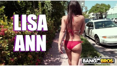 Bangbros  Lisa Ann Is The Response Penetrate Bus Is The Question