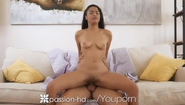 Passionhd Baby Sitter Entices Proprietor Into Running In Rivulets Internal Cumshot Fuck