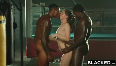 Blacked Tori Dark-hued Is Lubricated Up And Predominated By 2 Bbcs