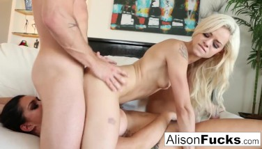 Threeway With Alison Tyler And Elsa Jean