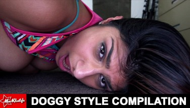 Mia Khalifa  Doggystyle Compilation Flick Attempt Not To Dump A Nut