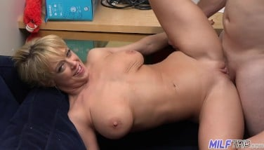 Milf Excursion  Ridiculously Mischievous Mummy Takes Facial Cumshot After Getting Screwed  Part 1