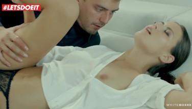 Letsdoeit  Insane Czech Duo Has Romantic Morning Sex