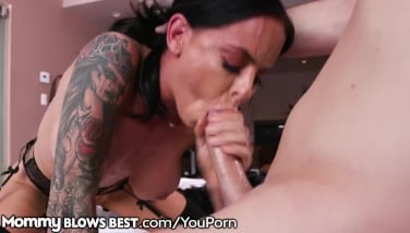 Mommyblowsbest Step Mother Bjs My Cock And I Glance Four A Job Deal