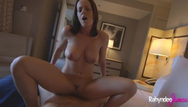 Rahyndee James Point Of View Cunny Nailed By Super-hot Cock