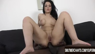 Alex Dark-hued Mounts Her Arse On Big Black Cock And Gets Spunk On Her Fat All-natural Jugs
