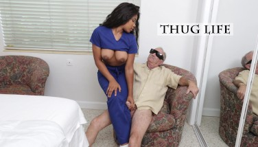 Blue Pill Boys  Old Stud Frankie Takes His Blue Pill And Heads To Town On Jenna Foxx