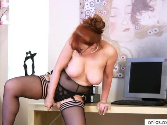 Solo Big Tits Masturbation