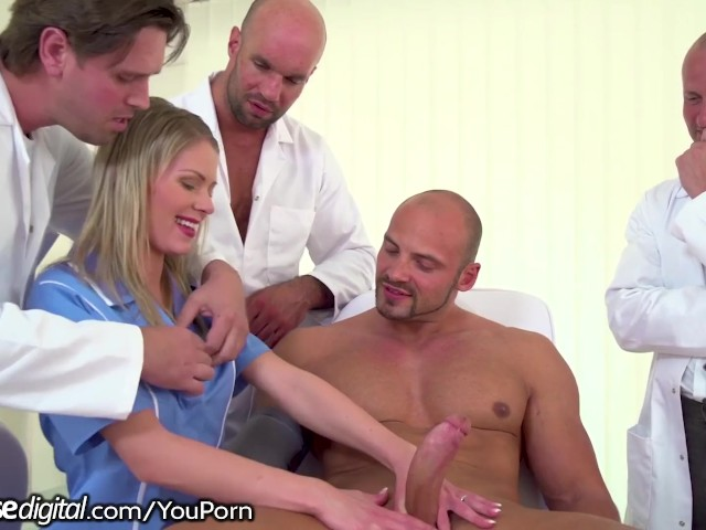 Trio Doctors 1 Patient And A Youthfull Nurse Gangbang 07 30