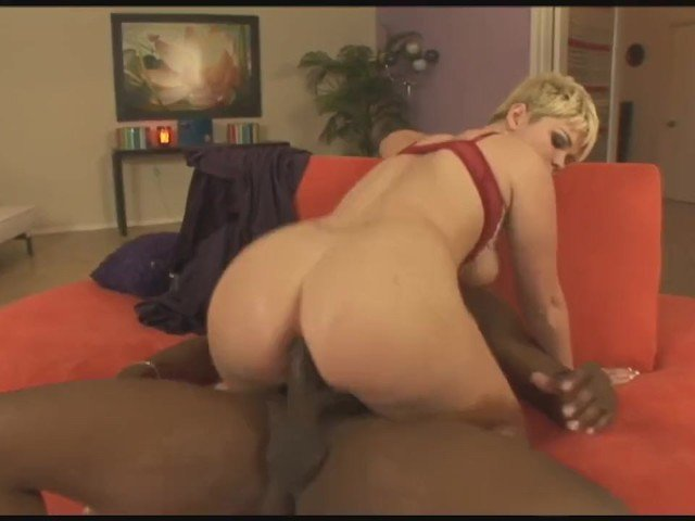 Short Haired Blonde Anal