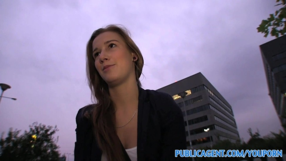 Publicagent Style Model Wanna Be Is Interviewed And Pummel