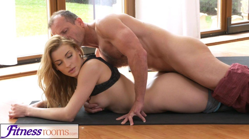 Fitnessrooms Yoga Sir Trains Youthful College Girl Sexual -8735