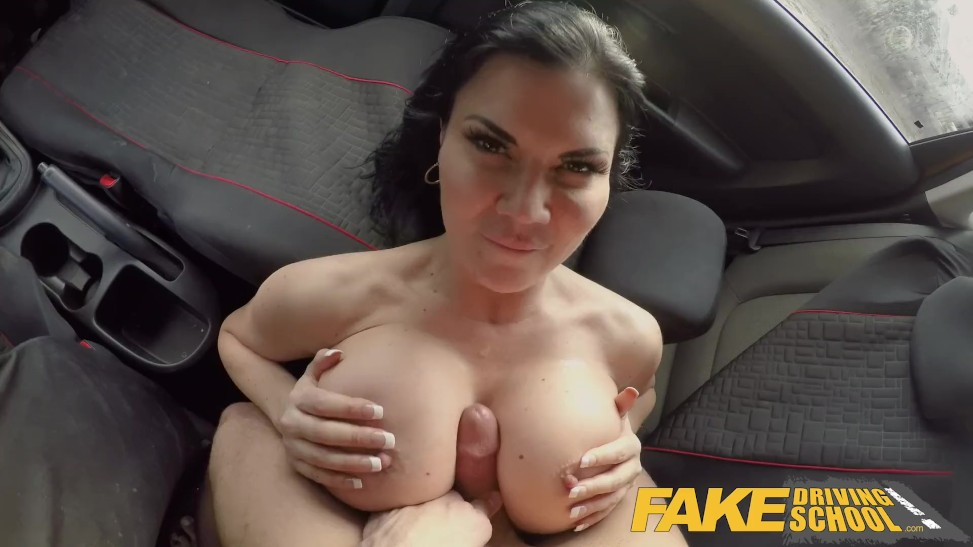 Fake Driving College Sterling Cooper Turns Table On Jasmine Jae (08:00) -  Letmejerk.com